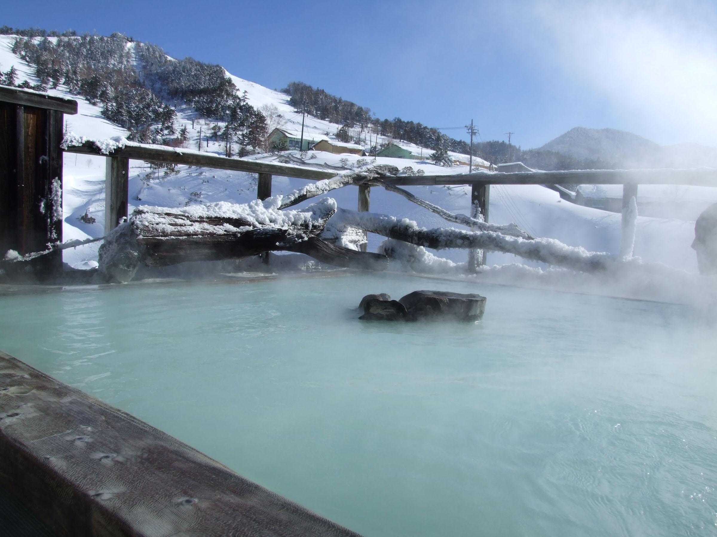 万座温泉 スキーと温泉、どちらも満喫できてお薦め!